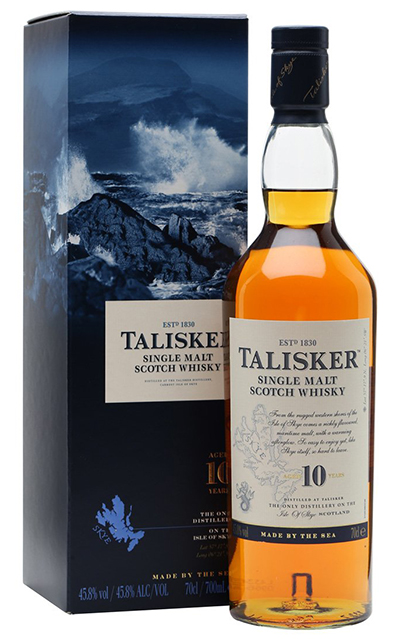 Talisker Whisky Skye Packshot