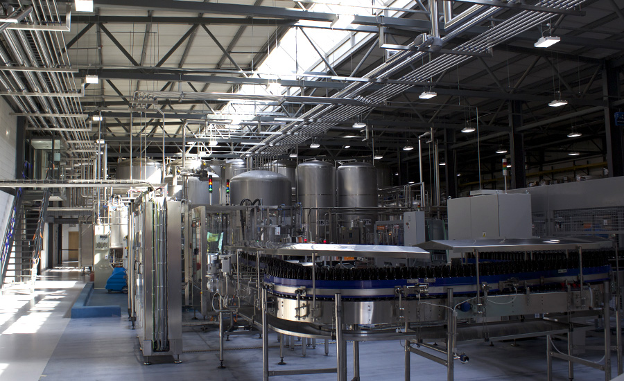 Bath Ales Fermenters and bottling lines