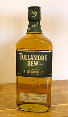 bottle of original blend Tullamore