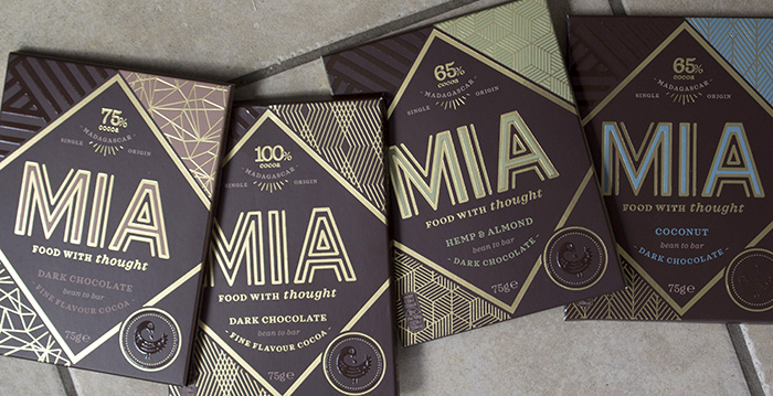 MIA chocolate flavours