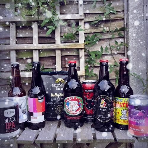 Beer Me Now Christmas Box