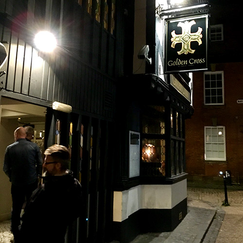 Golden Cross pub Coventry