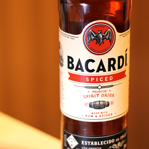 Bottle Bacardi Spiced rum