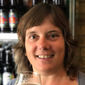 Ginny, brewery manager