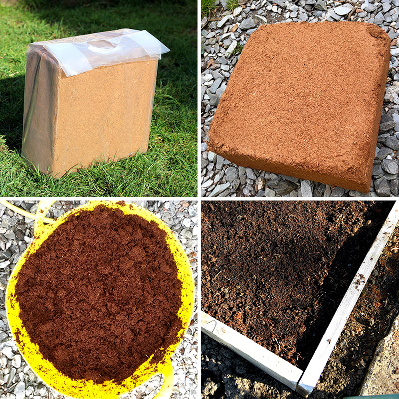 what to do with coco peat