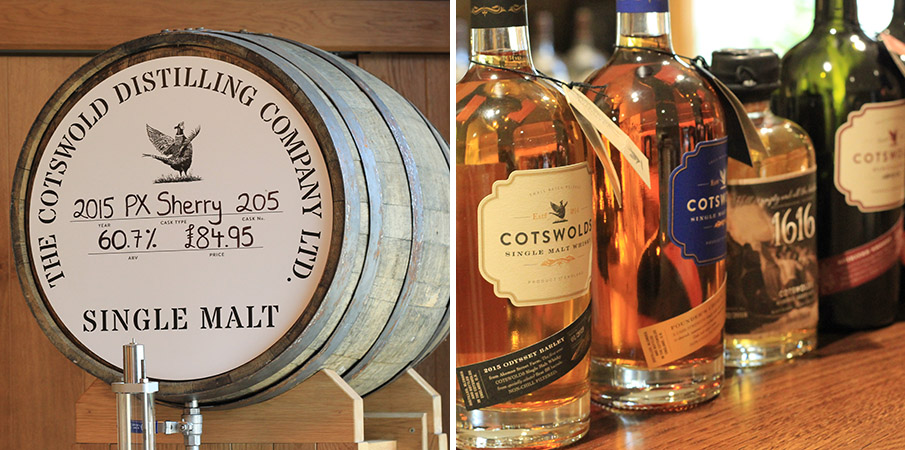 Cotswolds Distillery shop