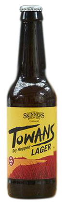 Skinners Towan Lager Review