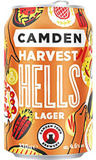 Camden Harvest Hells Lager Review