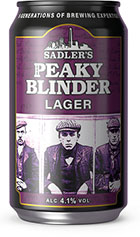 Sadlers Peaky Blinder Lager Review