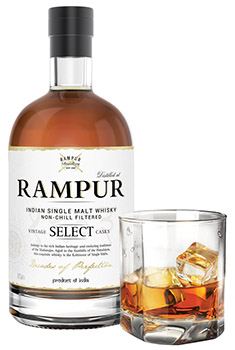 Rampur Select Whisky Bottle