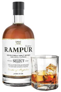 Rampur Select Whisky Bottle